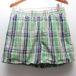 "Vintage ""POLO By Ralph Lauren"" Plaid Trunks"